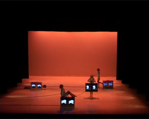 Four suitcases for a balancing act, 2003 by Elastic Group of Artistic Research – Teatro Gil Vicente, Coimbra Teatro Carlos Alberto, Oporto Teatro Camoes, Lisbona